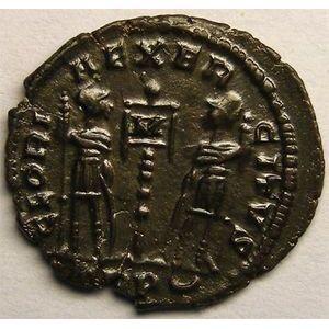 Photo numismatique Monnaies Empire Romain CONSTANCE II (324-361) Centenionalis ou Nummus