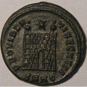 Photo numismatique Monnaies Empire Romain CONSTANTIN II,  LE JEUNE (316-340) Centenionalis ou Nummus