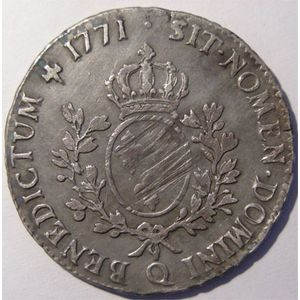 Photo numismatique Monnaies Royales Fran�aises LOUIS XV (1715-1774) Ecu � la vieille t�te
