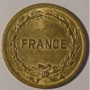 Photo numismatique Monnaies Françaises 2 Francs Gadoury 537. France Libre
