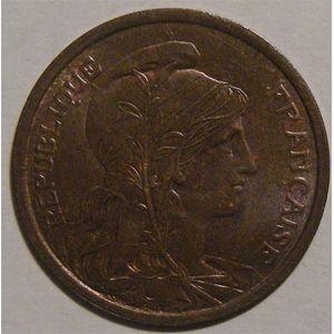 Photo numismatique Monnaies Françaises 2 Centimes Gadoury 107. Dupuis