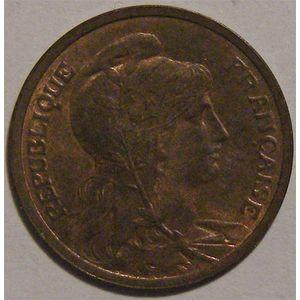 Photo numismatique Monnaies Françaises 1 Centime Gadoury 90. Dupuis
