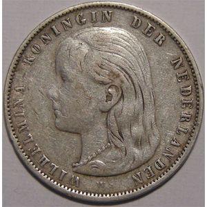 Photo numismatique Monnaies Etrang�res Pays-Bas 1 Gulden