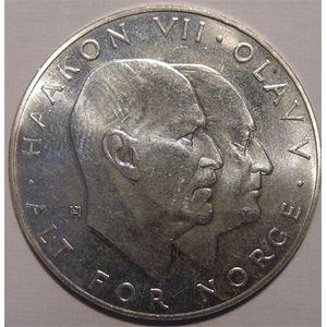 Photo numismatique Monnaies Etrang�res Norv�ge 25 Kroner