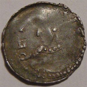 Photo numismatique Monnaies Lorraine Evêché de Toul Pierre de Brixey (1165-1191)