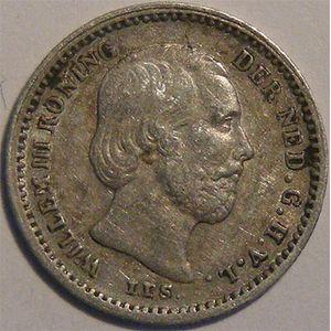 Photo numismatique Monnaies Etrang�res Pays-Bas 5 Cents