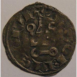Photo numismatique Monnaies Royales Françaises LOUIS VIII (1223-1226) ou LOUIS IX (1226-1245/50) Denier tournois