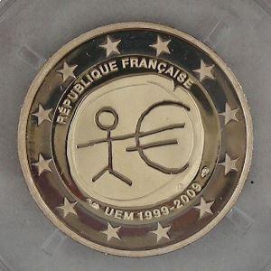 2 Euro 2009 BE, Union Economique Monétaire