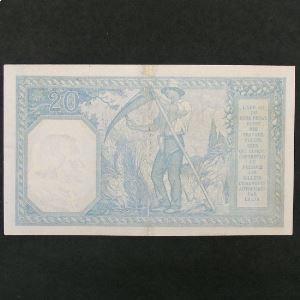 20 Francs Bayard 9.9.1918 , B+