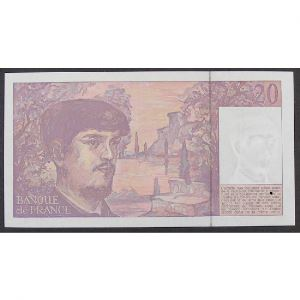 20 Francs Debussy 1991, Z.032, Pr.Neuf