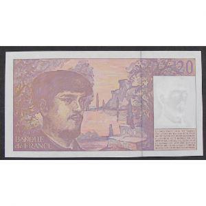 20 Francs Debussy 1997, H.064, Pr.Neuf