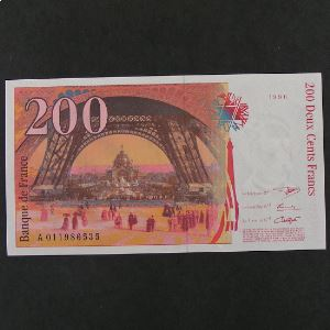 200  Francs Eiffel 1996, SUP