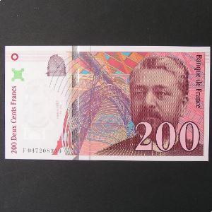 200 Francs Eiffel 1996, SPL