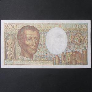 200 Francs Montesquieu  1989, TTB