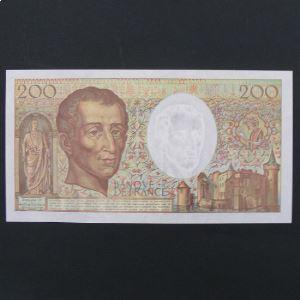 200 Francs Montesquieu 1992 , TTB+