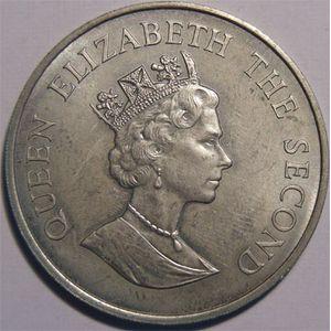 Photo numismatique Monnaies Etrang�res Iles Malouines ( Falkland islands) 50 Pence