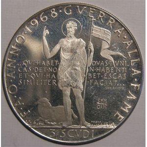 Photo numismatique Monnaies Etrang�res Malte (Ordre de) 3 Scudi