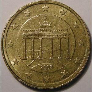 Photo numismatique Monnaies Euros Monnaies fautées 50 Cent