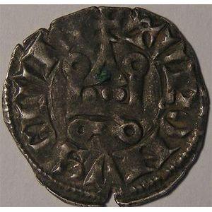 Photo numismatique Monnaies Royales Françaises PHILIPPE IV dit Philippe le Bel (1285-1314) Denier tournois à l'O long