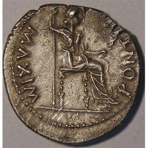Photo numismatique Monnaies Empire Romain TIBERE (14-37) Denier