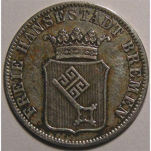 Photo numismatique Monnaies Etrangères Allemagne Bremen