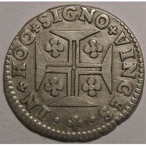 Photo numismatique Monnaies Etrangères Portugal 60 Reis
