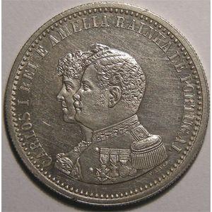 Photo numismatique Monnaies Etrang�res Portugal 500 Reis