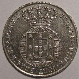 Photo numismatique Monnaies Etrangères Portugal 120 Reis