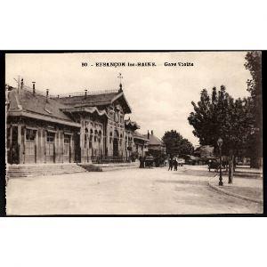 25 - BESANCON LES BAINS (Doubs) - Gare Viotte