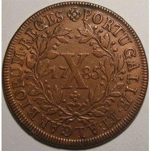 Photo numismatique Monnaies Etrang�res Portugal 10 Reis