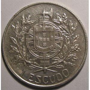 Photo numismatique Monnaies Etrang�res Portugal 1 Escudo