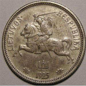 Photo numismatique Monnaies Etrangères Lithuanie 2 Dulitu