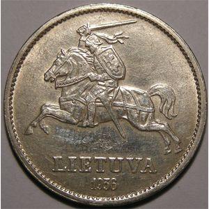 Photo numismatique Monnaies Etrang�res Lithuanie 10 Litu