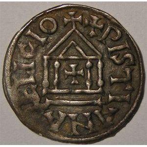 Photo numismatique Monnaies Carolingiennes Louis I le Pieux  814-840 Denier