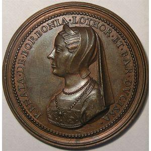 Photo numismatique Monnaies Jetons et médailles Médailles Lorraines Les Ducs de Lorraine