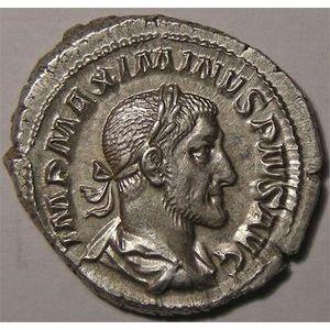 Photo numismatique Monnaies Empire Romain MAXIMINUS I (235-238) Denier