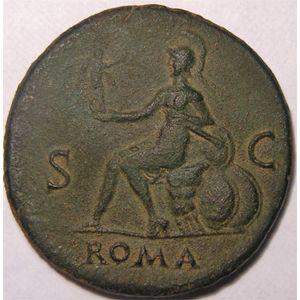 Photo numismatique Monnaies Empire Romain NERON (54-68) Sesterce