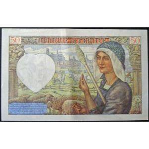 Photo numismatique Billets Billets France 50 Francs Jacques Coeur