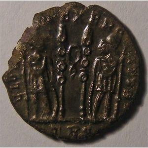 Photo numismatique Monnaies Empire Romain CONSTANTIN II,  LE JEUNE (316-340) Follis ou nummus