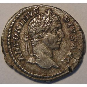 Photo numismatique Monnaies Empire Romain CARACALLA (196-217) Denier