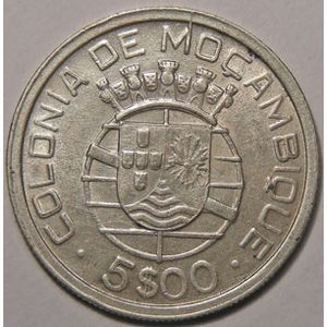 Photo numismatique Monnaies Etrang�res Mozambique 5 Escudos