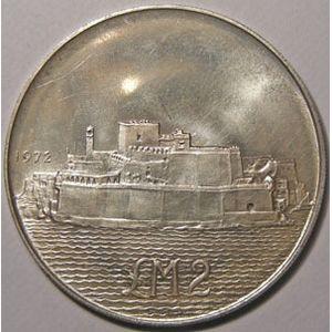 Photo numismatique Monnaies Etrang�res Malte 2 Pounds