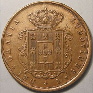 Photo numismatique Monnaies Etrangères Portugal 20 Reis