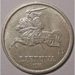 Photo numismatique Monnaies Etrangères Lithuanie 10 Litu