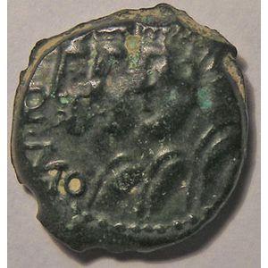 Photo numismatique Monnaies Gauloises Rèmes Bronze