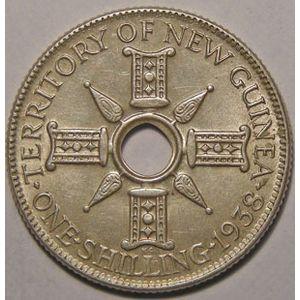 Photo numismatique Monnaies Etrang�res Nouvelle Guin�e 1 Shilling