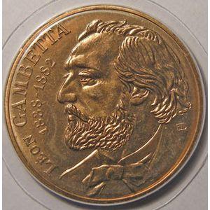 Photo numismatique Monnaies Françaises 10 Francs Gadoury 815. Gambetta