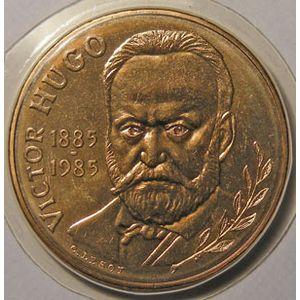 Photo numismatique Monnaies Françaises 10 Francs Gadoury 819. Victor Hugo