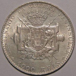 Photo numismatique Monnaies Etrang�res Portugal 1000 Reis