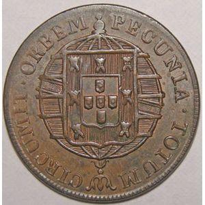 Photo numismatique Monnaies Etrang�res Mozambique 80 Reis